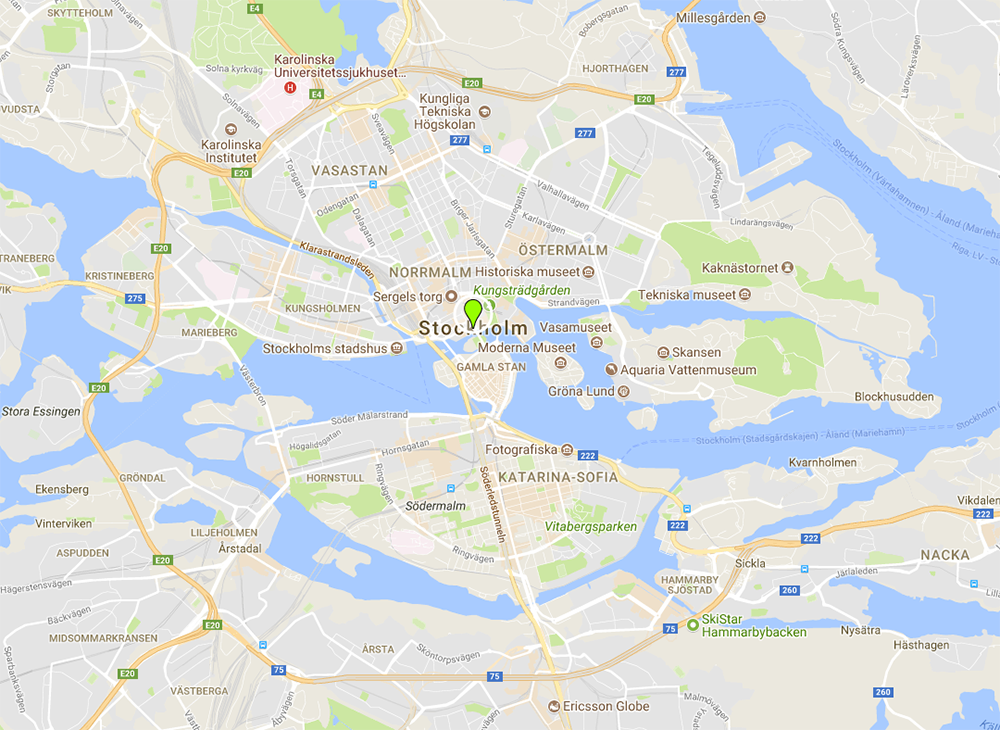 Interactive Google map - STOCKHOLM AND LESBIAN TRAVEL ... on