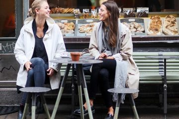 Lesbian couple in Stockholm, Sweden