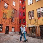 In the mood for love in Gamla Stan, Stockholm's old town