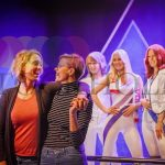 Two meets four at ABBA the Museum