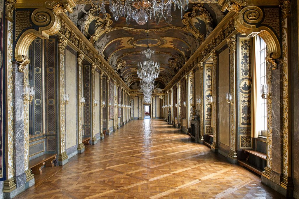 Karl XI's gallery at the Swedish Royal Palace, Stockholm, Sweden
